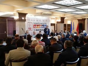 Ministrul Dezvoltării a fost prezent la şedinţa conducerii PSD Suceava