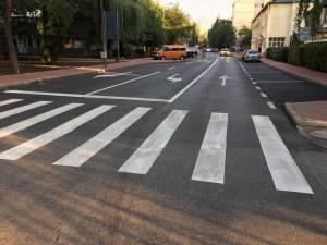 Accidentul a avut loc pe o trecere de pietoni de pe strada Scurtă