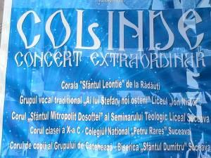 """""""Concert Extraordinar de Colinde"""", luni, la Casa de Cultură Suceava"""