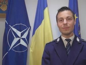 Comisarul Ionuţ Epureanu, purtătorul de cuvânt al IPJ Suceava