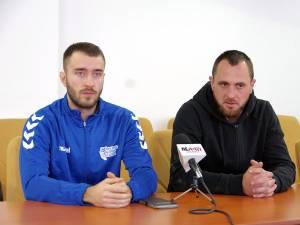 Extrema Andrei Olariu și antrenorul Adrian Chiruţ
