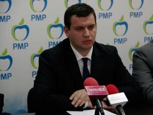 Liderul interimar al PMP Suceava, deputatul Eugen Tomac