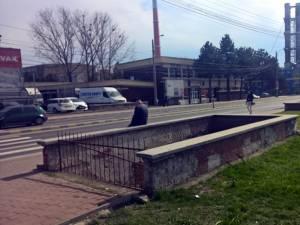 Pasajul subteran din zona Carrefour – Ambro, din municipiul Suceava