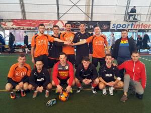 Selecționata Ligii Companiilor Suceava a terminat pe locul secund turneul