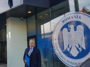 Primarul Sucevei a fost ieri la trei ministere, pentru a atrage finanțări