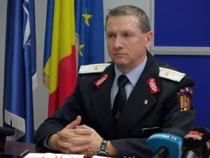 Şeful ISU Suceava, gen. de brigadă Ion Burlui