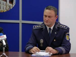 Şeful Serviciului Teritorial al Poliţiei de Frontieră (STPF) Suceava, comisar-şef Cezar Ciorteanu