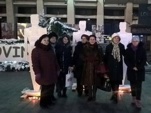 """Campania """"Dăruiește Ajută Respectă"""" s-a încheiat duminică, pe esplanada Casei de Cultură Suceava"""