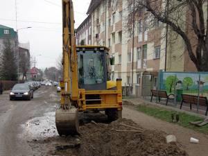 O avarie la reţeaua de apă potabilă a afectat aproape întreg cartierul Zamca