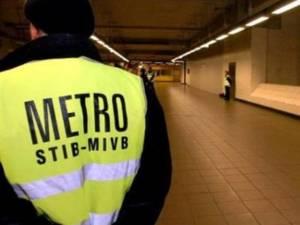 Bătaia a avut loc într-o staţie de metrou din Bruxelles
