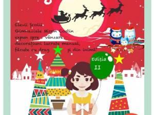"""Școala """"Miron Costin"""" organizează un Târg de Crăciun pentru copiii și tinerii defavorizați"""