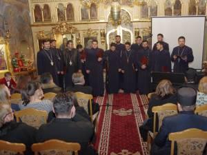 """Corala bărbătească ortodoxă """"Armonia"""" a susținut un concert de excepție  la Biserica """"Sf. Dumitru"""" Suceava"""