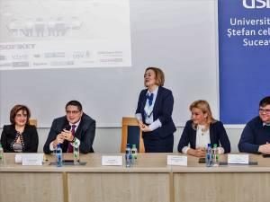 """""""Career Advice For Students"""", la Universitatea """"Ștefan cel Mare"""" Suceava"""