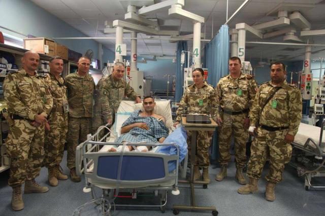Ciprian Iriciuc după atacul terorist