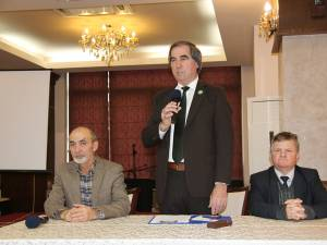 Doctorii Ioan Corduneanu, Petrea Dulgheru și Vasile Semeniuc