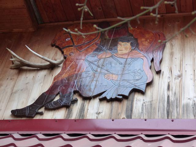Sala voievozilor, munca de 30 de ani a unui om care şi-a dedicat viaţa sculpturii în lemn