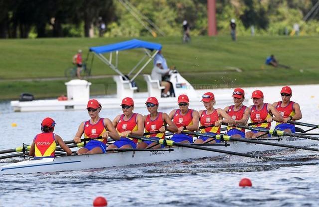 Barca de 8+1 cu care Viviana a reuşit să câştige aurul mondial