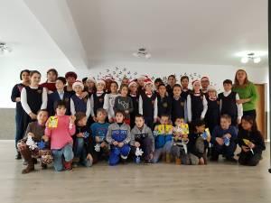 Mesagerii Crăciunului pentru copiii de la CSEI Suceava