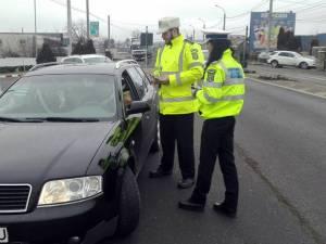 Poliţiştii vor pune accent pe acţiunile de control în trafic