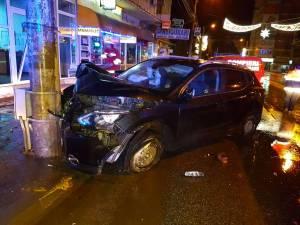 Șoferul nu a mai fost găsit la fața locului