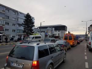 Traficul rutier în Burdujeni, paralizat în urma accidentului mortal de pe Calea Unirii