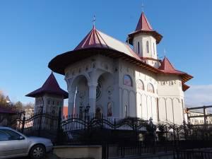 """Biserica """"Sfânta Treime"""" din municipiul Suceava unde a slujit preotul Viorel Sidoriuc până în data de 1 ianuarie 2018"""