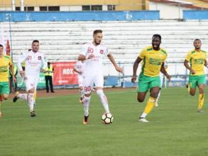 Fostul atacant al Forestei, Bogdan Rusu va da piept cu FCSB în Cupa României. Foto Valentin Macrea