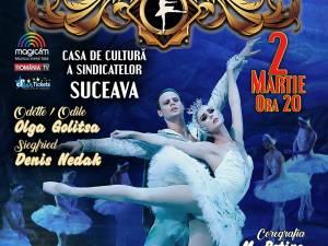 """Baletul Clasic din Saint Petersbourg aduce la Suceava spectacolul """"Lacul Lebedelor"""""""