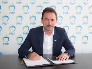 Marian Andronache a declarat că va candida pentru funcţia de preşedinte al filialei judeţene PMP