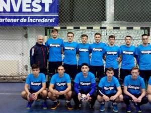 Echipa de handbal juniori II LPS Suceava, antrenor Iulian Dugan