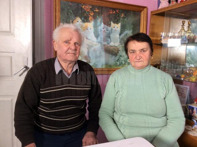 Nea Adolf cu soţia Paraschiva