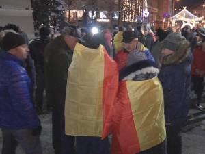 Protest anti-PSD, la Suceava 1