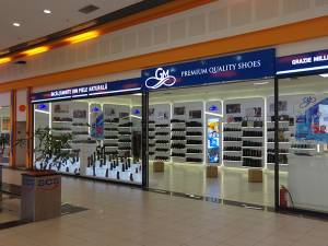 Magazinul GM Shoes din incinta Shopping City Suceava