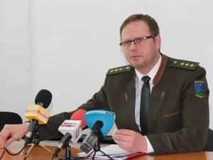 Mihai Gășpărel, șeful Gărzii Forestiere Suceava