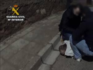Costel Marian Stan a fost prins şi imobilizat de angajaţii Gărzii Civile