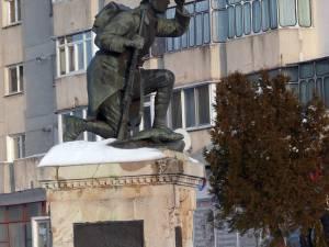 Monumentul militarului grănicer de la Fălticeni