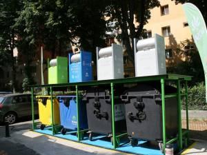 Noul contract de salubrizare prevede amenajarea a 200 de buncăre de gunoi subterane sau parţial îngropate