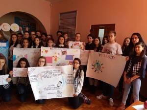 Campanie de prevenire a violenței, la Școala Gimnazială Nr. 4 Suceava