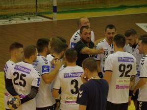Universitatea a pierdut la CSM București, după un meci cu două reprize total diferite