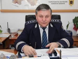 Comisarul-şef Ioan Nichitoi, fostul şef al Poliţiei municipiul Fălticeni