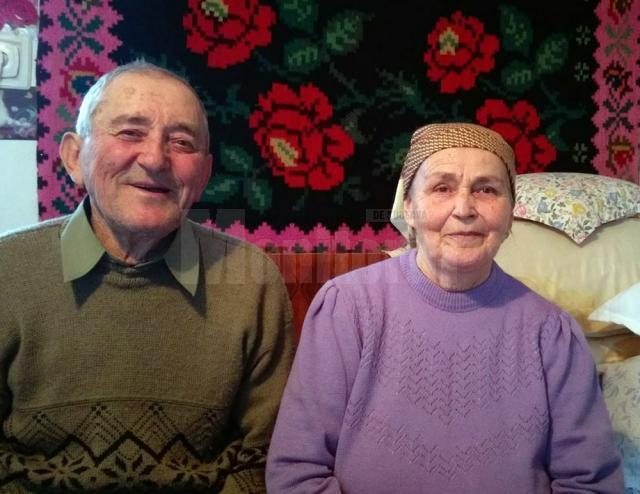 Bunicii sărbătoresc 60 de ani de la căsătorie