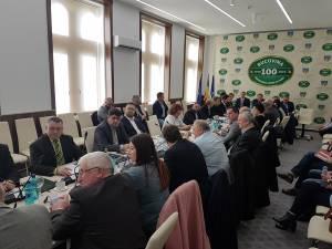 Ședinţa din luna ianuarie a Consiliului Județean Suceava