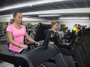 În cadrul clubului există multe cereri pentru zona Cardio, benzile de alergare fiind foarte solicitate