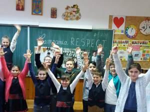 """""""Împreună, să prevenim şi să eliminăm violenţa!"""", la Şcoala Gimnazială """"Mihail Sadoveanu"""" Fălticeni"""