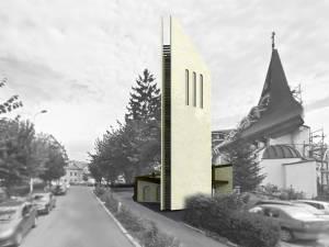 Turnul Centenar este gândit ca o construcţie cu trei laturi, care au ca semnificaţie Sfânta Treime şi cele trei provincii istorice: Moldova, Transilvania şi Ţara Românească