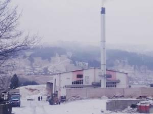 Centrala termică din Vatra Dornei nu a funcționat vineri timp de câteva ore. Foto: Monitorul de Dorna
