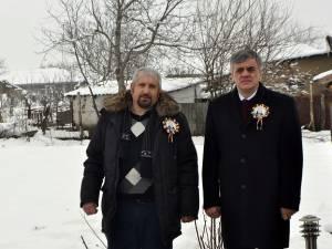Anatol Ceban și Ioan Pavăl, primarii comunelor Pererîta și Dumbrăveni