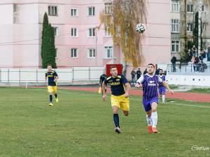 Fostul rapidist Răzvan Bîgu a fost unul dintre cei mai buni jucători ai formaţiei fălticenene în tur Sursa foto Codrin Anton