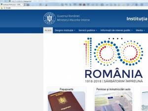 Noul site de internet al Prefecturii Suceava