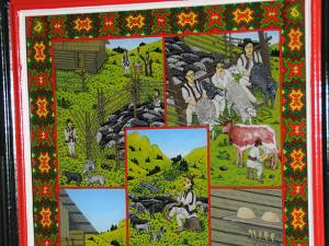 Tradiţii și ritualuri de stână, în reprezentarea pictorului Filon Lucău
